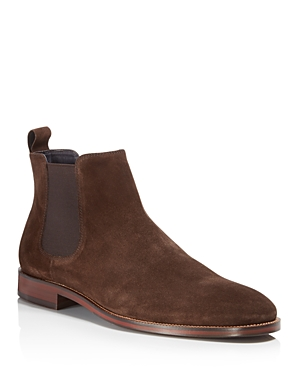 These clean and classic Chelsea boots from our Men\\\'s Store work just as well with a suited look as they do with jeans.