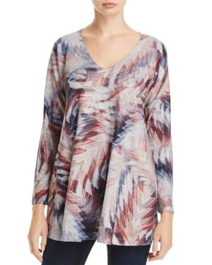 NALLY & MILLIE GRAPHIC PRINT TUNIC