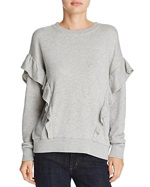 Joie Agnia Ruffled Sweatshirt