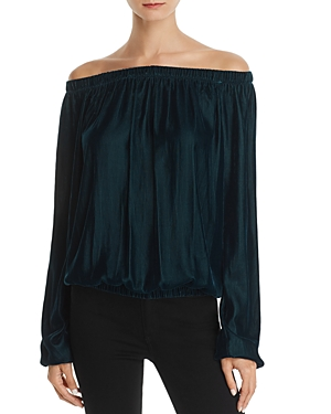 Bailey 44 Children of the Lilith Off-the-Shoulder Velvet Top