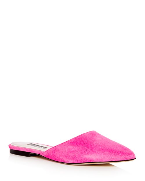 SJP by Sarah Jessica Parker - Women's Slip Suede Pointed Toe Mules - 100% Exclusive