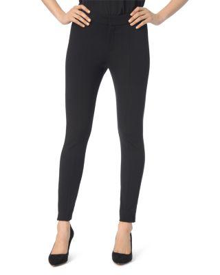 'Betty' Stretch Ankle Pants, Black