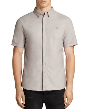 Allsaints Hungtingdon Slim Fit Button-Down Shirt
