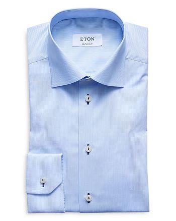 Eton - Fine Stripe Regular Fit Dress Shirt