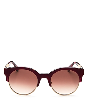 kate spade new york Kaileen Round Sunglasses, 51mm
