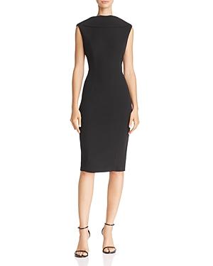 Adrianna Papell High-Neck Sheath Dress