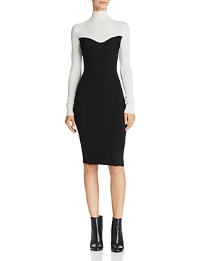 Theory Bustier Sweater Dress