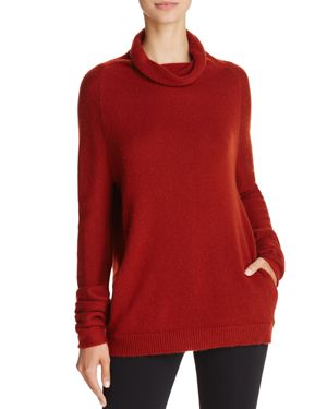 Theory Norman B Funnel Neck Cashmere Sweater