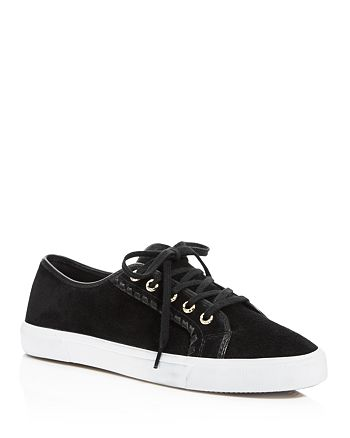 Jack Rogers - Women's Carter Suede Lace Up Sneakers