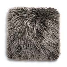 "UGG® Mongolian Sheepskin Fur Decorative Pillow, 16"" x 16"" - Bloomingdale's_0"