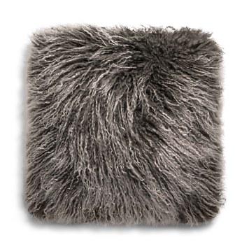 $UGG® Mongolian Sheepskin Fur Decorative Pillow, 16