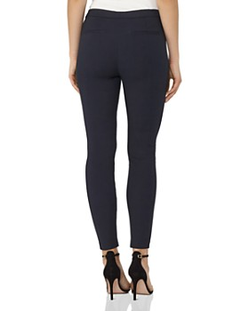 REISS - Darlas Skinny Cropped Zip-Hem Pants