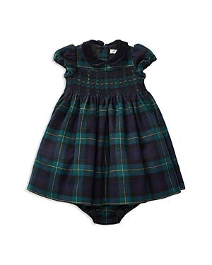 Ralph Lauren Childrenswear Girls Smocked Plaid Dress  Bloomers Set  Baby
