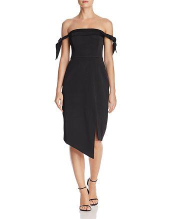 Stylestalker - Savannah Off-the-Shoulder Dress - 100% Exclusive