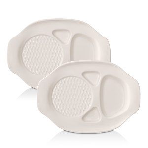Villeroy & Boch Bbq Passion Burger Plate, Set of 2