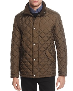 Cole Haan - Diamond Quilted Snap Jacket