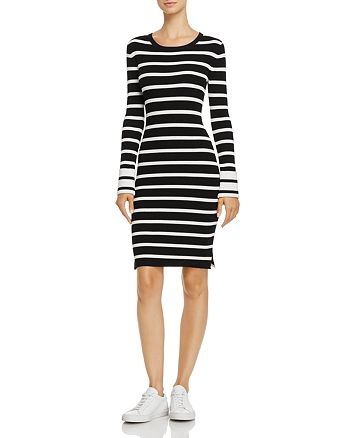Theory - Prosecco Striped Sweater Dress
