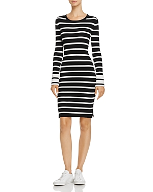 Theory Prosecco Striped Sweater Dress