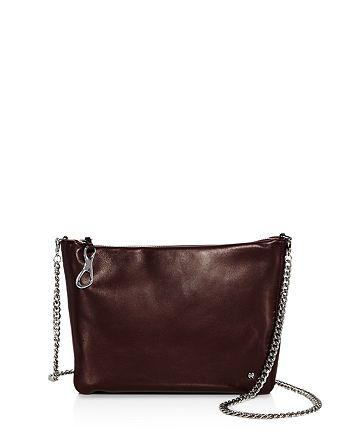 2fd043b6cd HALSTON HERITAGE - Elsa Convertible Leather Clutch
