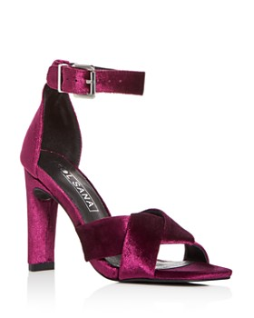 Sol Sana - Women's Tallulah Vevet High-Heel Sandals
