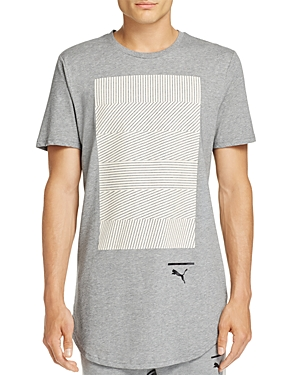Puma Evo Knit Graphic Short Sleeve Tee