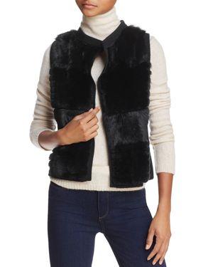 C by Bloomingdale's Rabbit Fur-Front Vest - 100% Exclusive