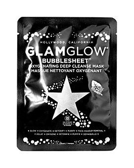 GLAMGLOW - BUBBLESHEET™ Oxygenating Deep Cleanse Mask, Single
