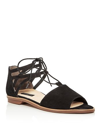 Paul Green - Women's Morea Nubuck Leather Lace Up Sandals