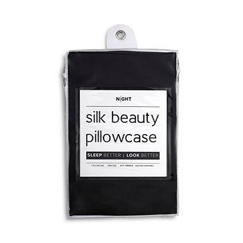NIGHT - Silk Beauty Pillowcase, King