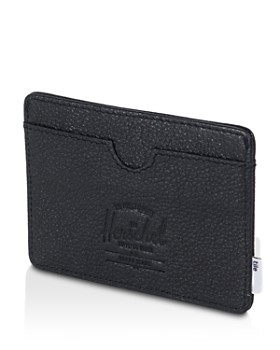 Herschel Supply Co. x Tile - x Tile Leather Charlie Card Case