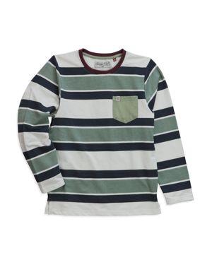 Sovereign Code Boys' Striped Long-Sleeve Tee - Little Kid