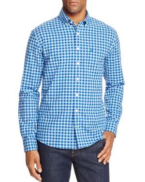 Johnnie-o Bobby Plaid Long Sleeve Button-Down Shirt