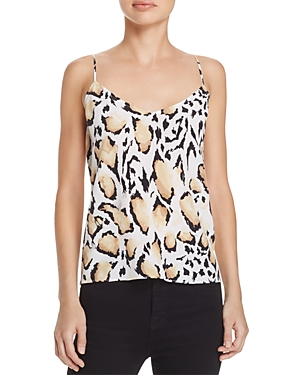 Equipment Layla Leopard Print Silk Cami