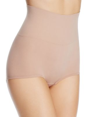 YUMMIE Ultralite Seamless Shaping Girlshorts in Almond