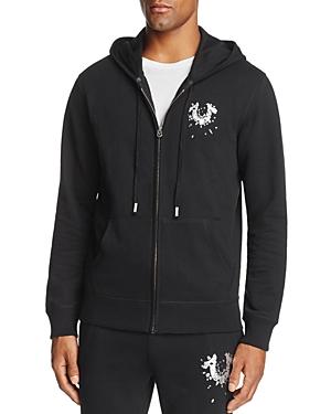 True Religion Shattered Horseshoe Zip Hooded Sweatshirt