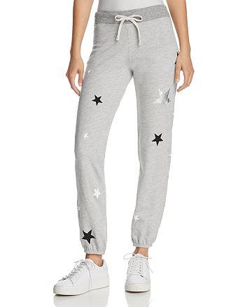 Sundry - Metallic-Star Sweatpants