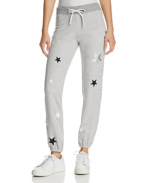 Sundry Metallic-Star Sweatpants