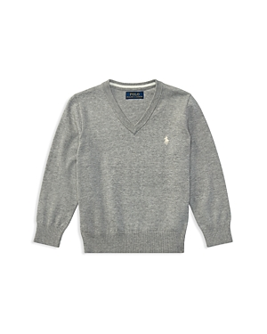 Ralph Lauren Childrenswear Boys' V-Neck Sweater - Little Kid