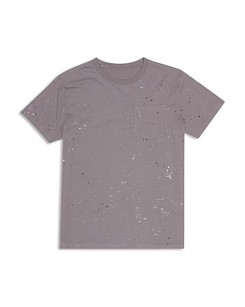 ag Adriano Goldschmied Kids - Boys' Paint-Splattered Tee - Big Kid