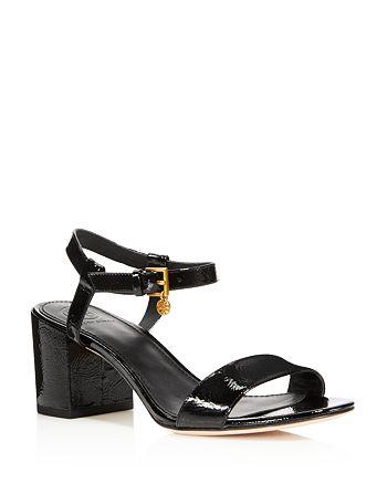 f0f6b4d6de185 Tory Burch Women s Laurel Patent Leather Ankle Strap Sandals ...