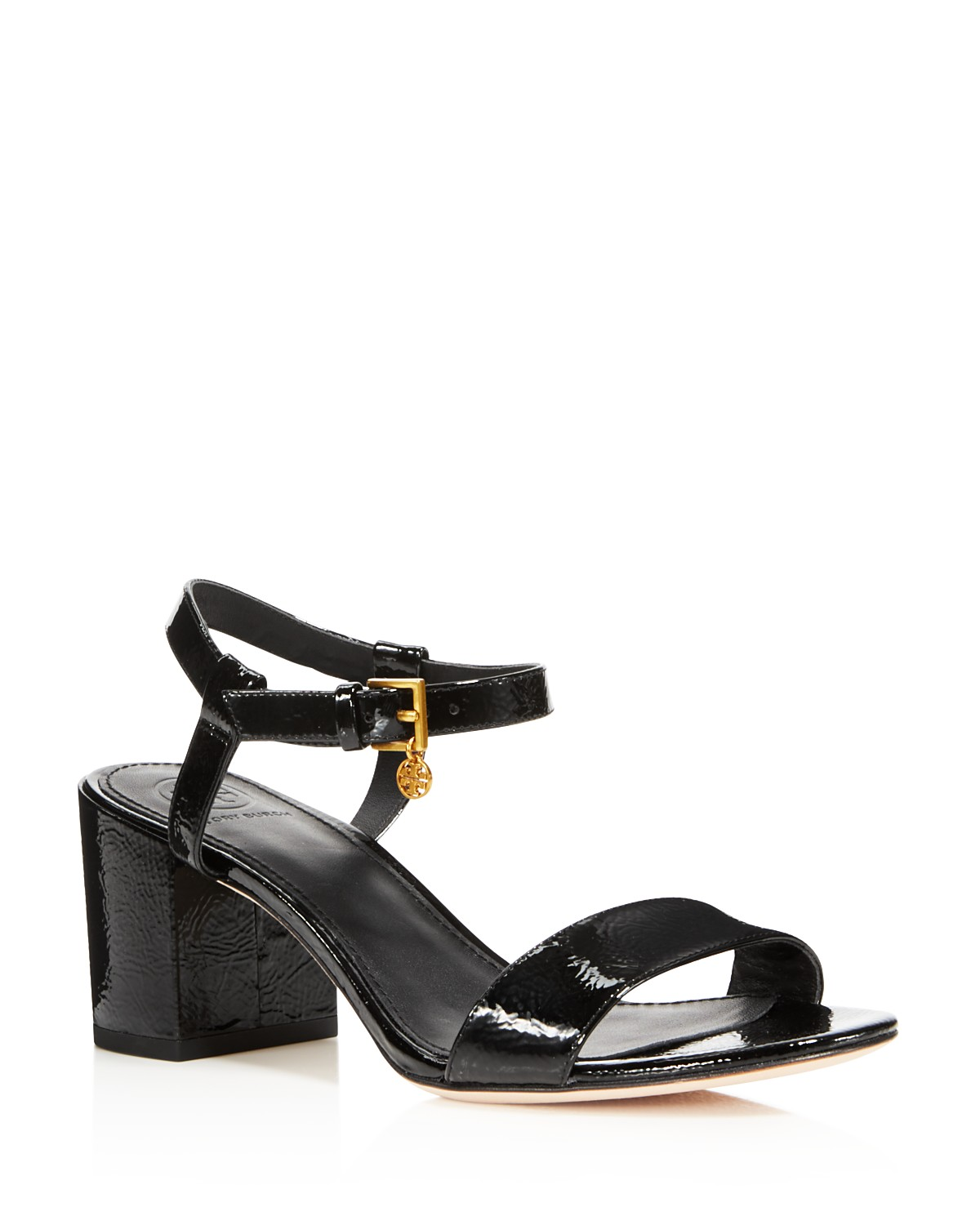 Tory Burch Women's Laurel Patent Leather Ankle Strap Sandals - 100% Exclusive 5QVRQ