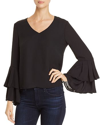 Finn & Grace - Tiered Bell Sleeve Top - 100% Exclusive