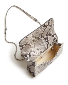 Tory Burch Fleming Snakeskin Embossed Leather Small Convertible Shoulder Bag Clearance Footaction Buy Cheap Official Official Discount Hot Sale Outlet Cheapest Price ZlGDmKN