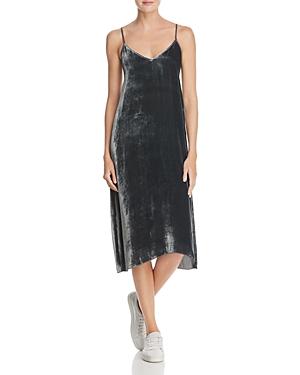 Atm Anthony Thomas Melillo Velvet Slip Dress