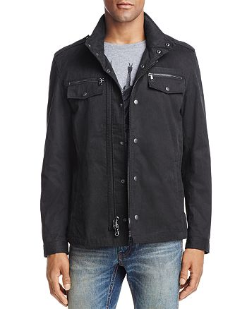 John Varvatos Star USA - Double Zip Shirt Jacket