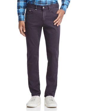 Boss Delaware Slim Fit Pants in Dark Gray
