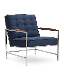 Mitchell Gold Bob Williams - Major Chair and Ottoman