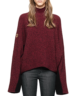 Zadig & Voltaire Lola Oversize Dolman Sleeve Sweater