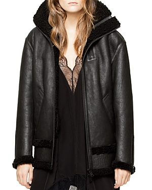 Zadig & Voltaire Kyle Deluxe Shearling Jacket