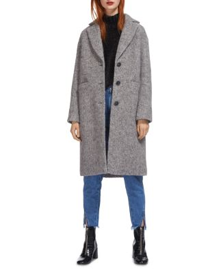 SLIM TEXTURED OVERCOAT